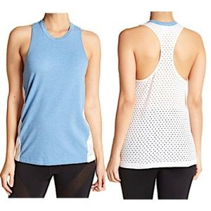 Z By Zella Trickster Perforated Back Tank Top